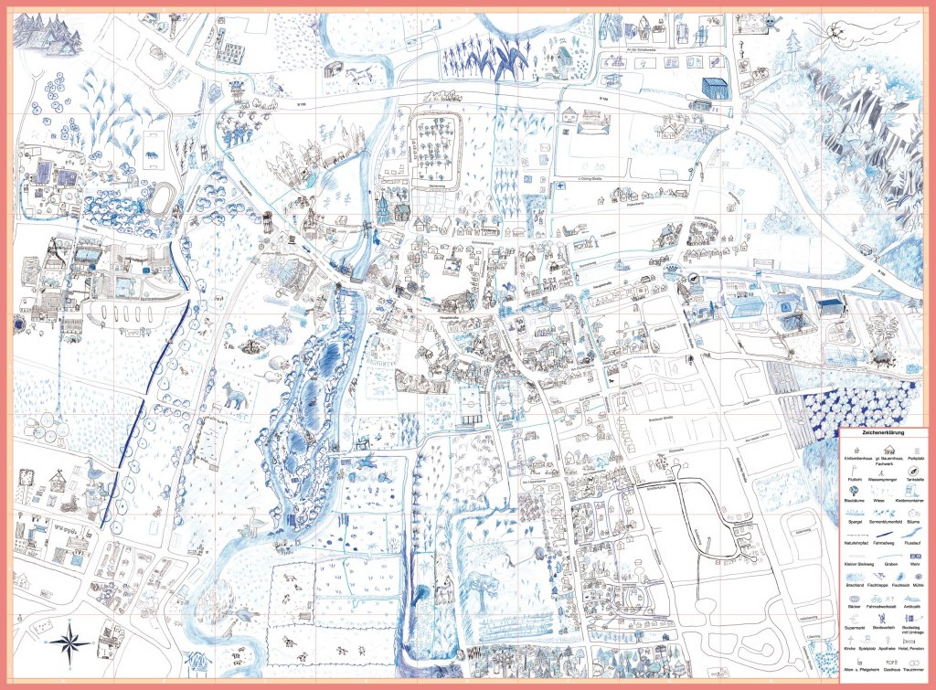 Beispiel: Map of Meinersen, Ergebniss der Mapping Session # Meinersen 2018